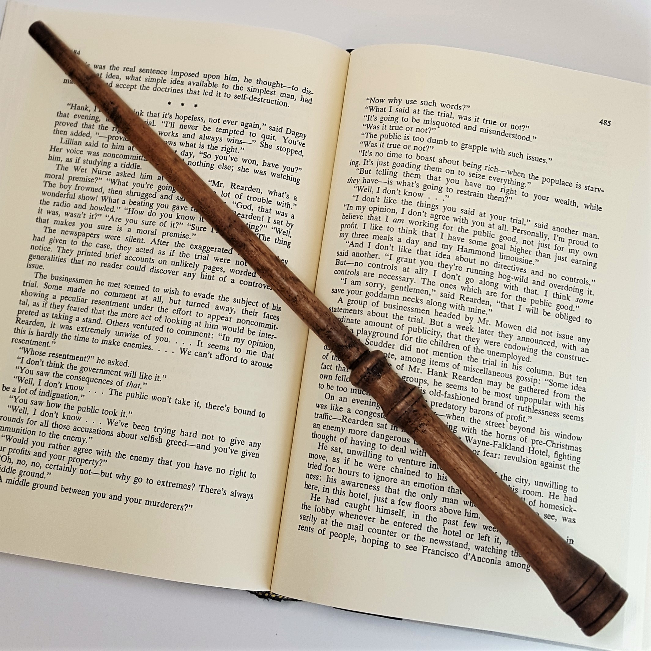 "Hand-carved ""Antique Wand"" - $25"