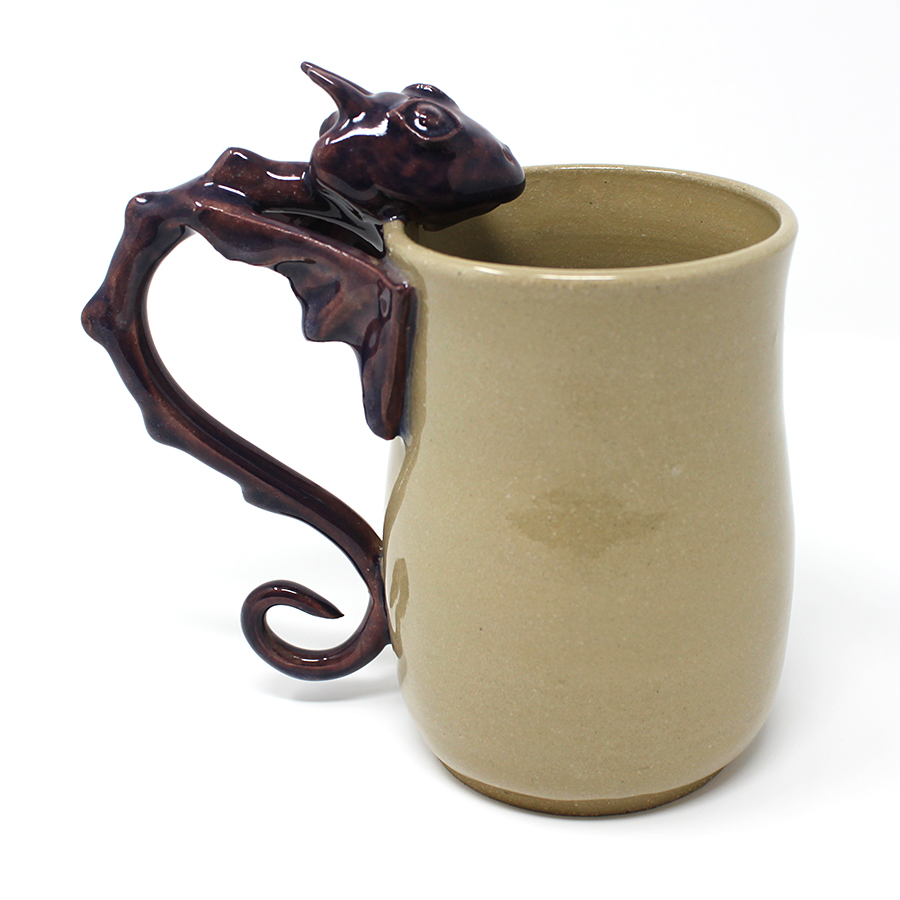 18 oz. Purple Dragon Mug - $75