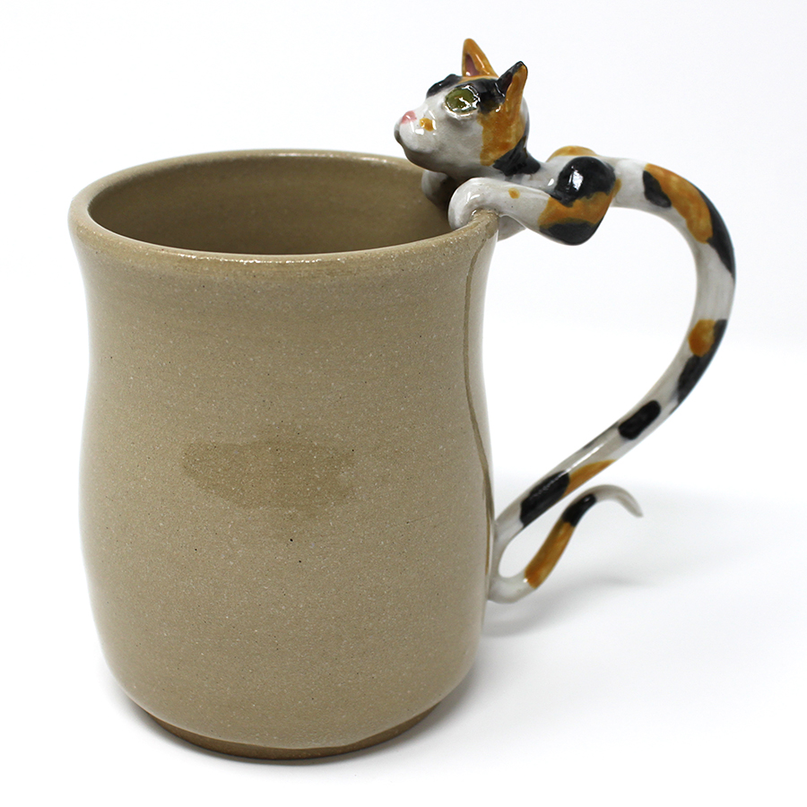 14 oz. Calico Cat Mug - $80