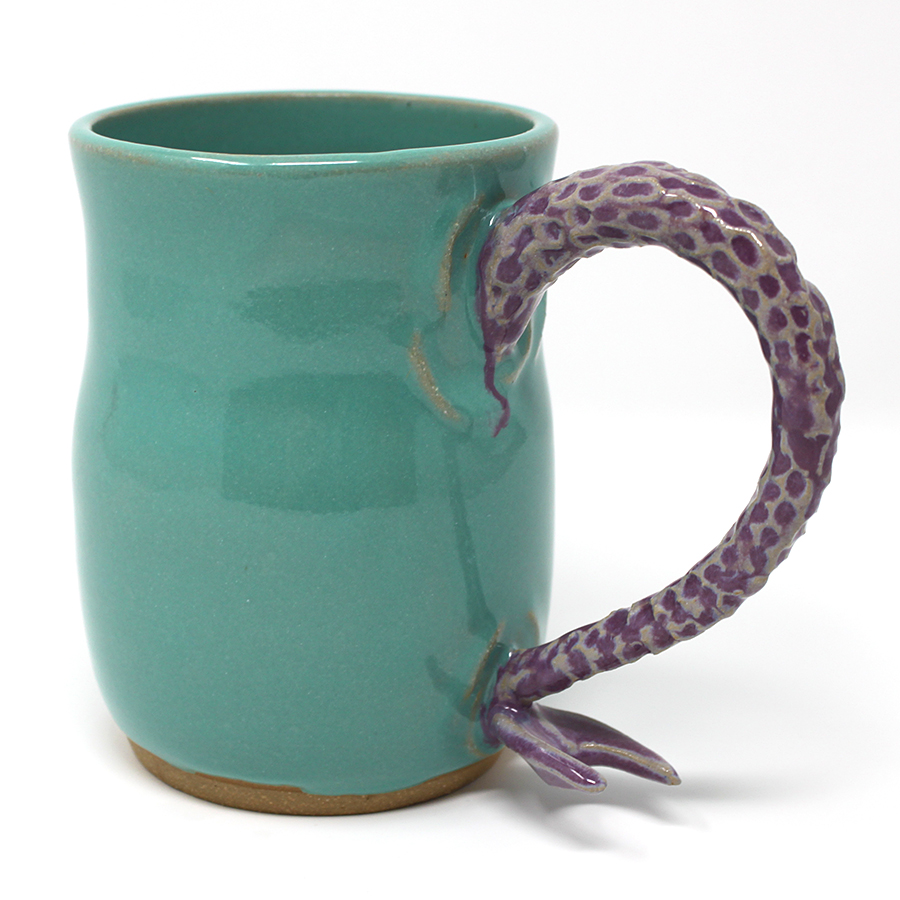 17 oz. Purple Mermaid Mug - $60