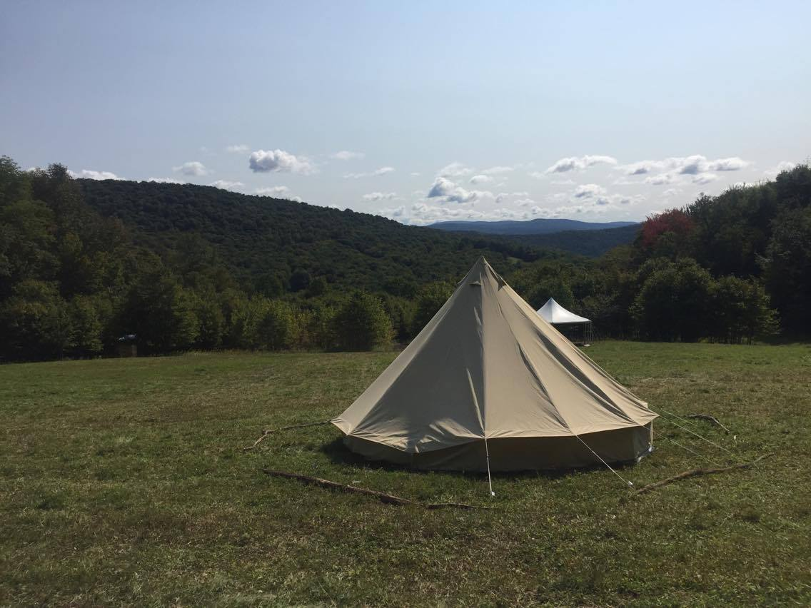 Tents at Project Woods