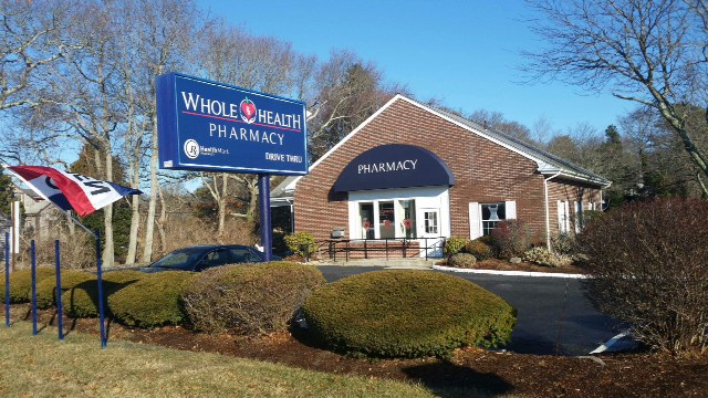 Whole Health Pharmacy opened in 2014. It is located at 596 West Main Street, Hyannis.