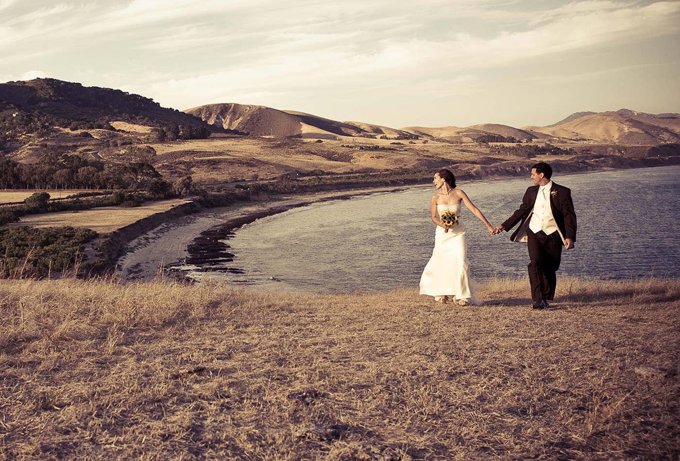 Lovely Santa Barbara Wedding Hilltop