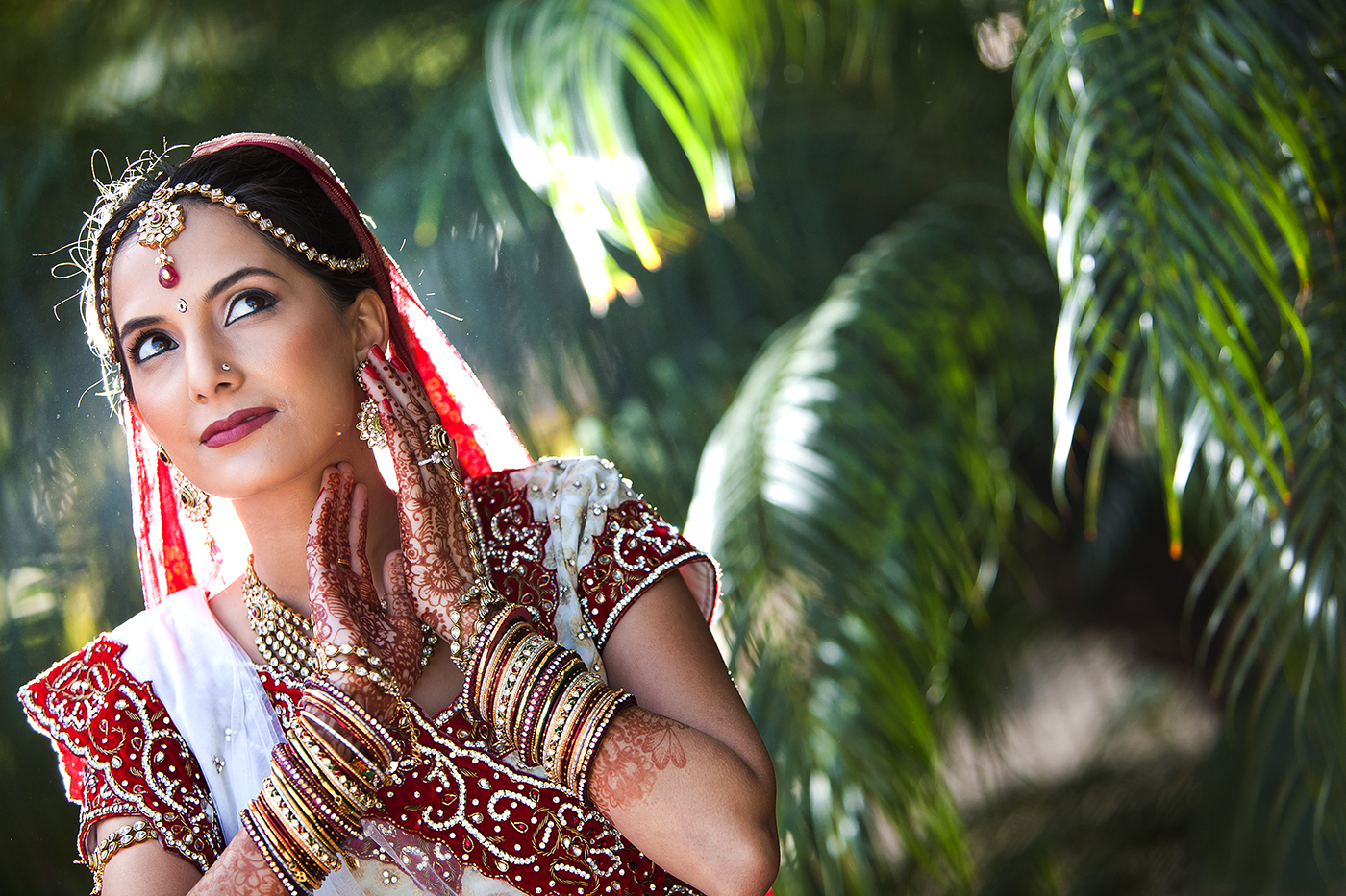 Pacific Palms Resort Hindu Bride