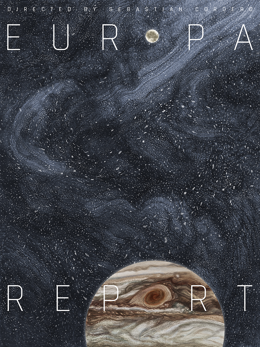 EUROPA REPORT | Movie poster for the sci-fi thriller directed by Sebastian Cordero.