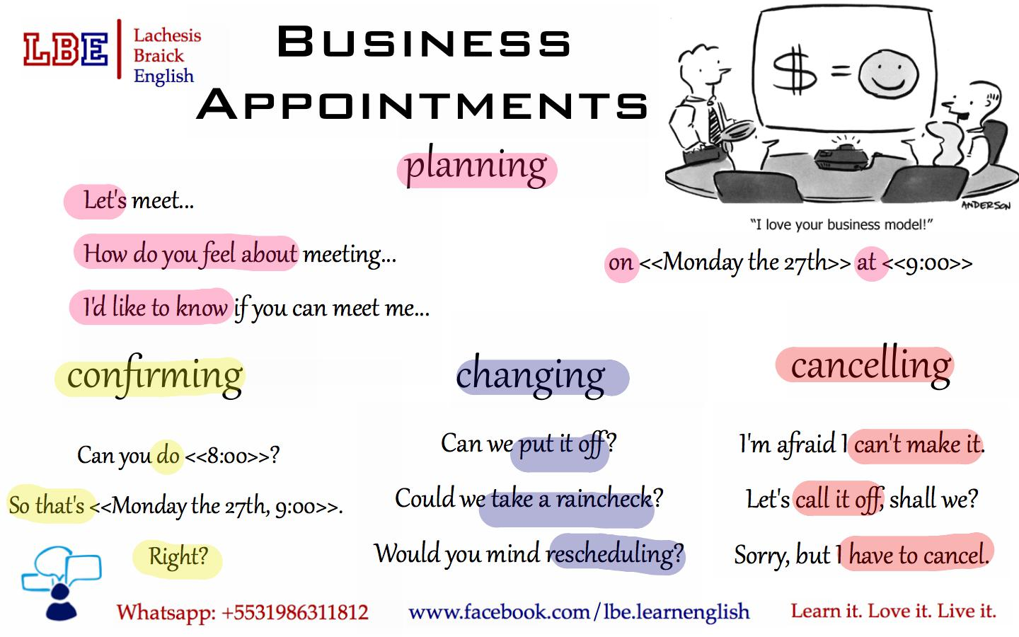 polite english indirect questions business appointments making plans with people