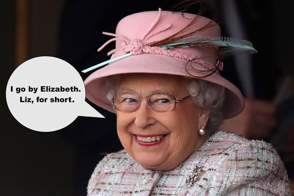 nickname queen elizabeth
