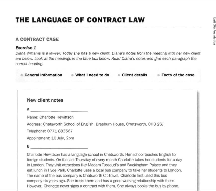Direito contratual - Estudo de caso