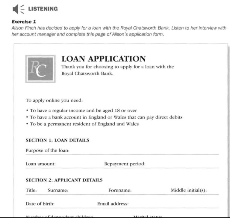 Direito bancário - Uma atividade de compreensão auditiva