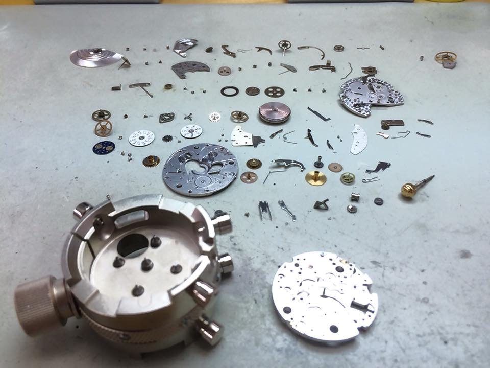 Taking apart a watch is easy in the grand scheme of things