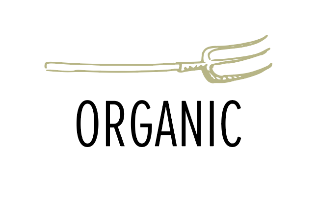 Our eggs and pastures are certified organic, our chickens and pigs get only 100% organic grains