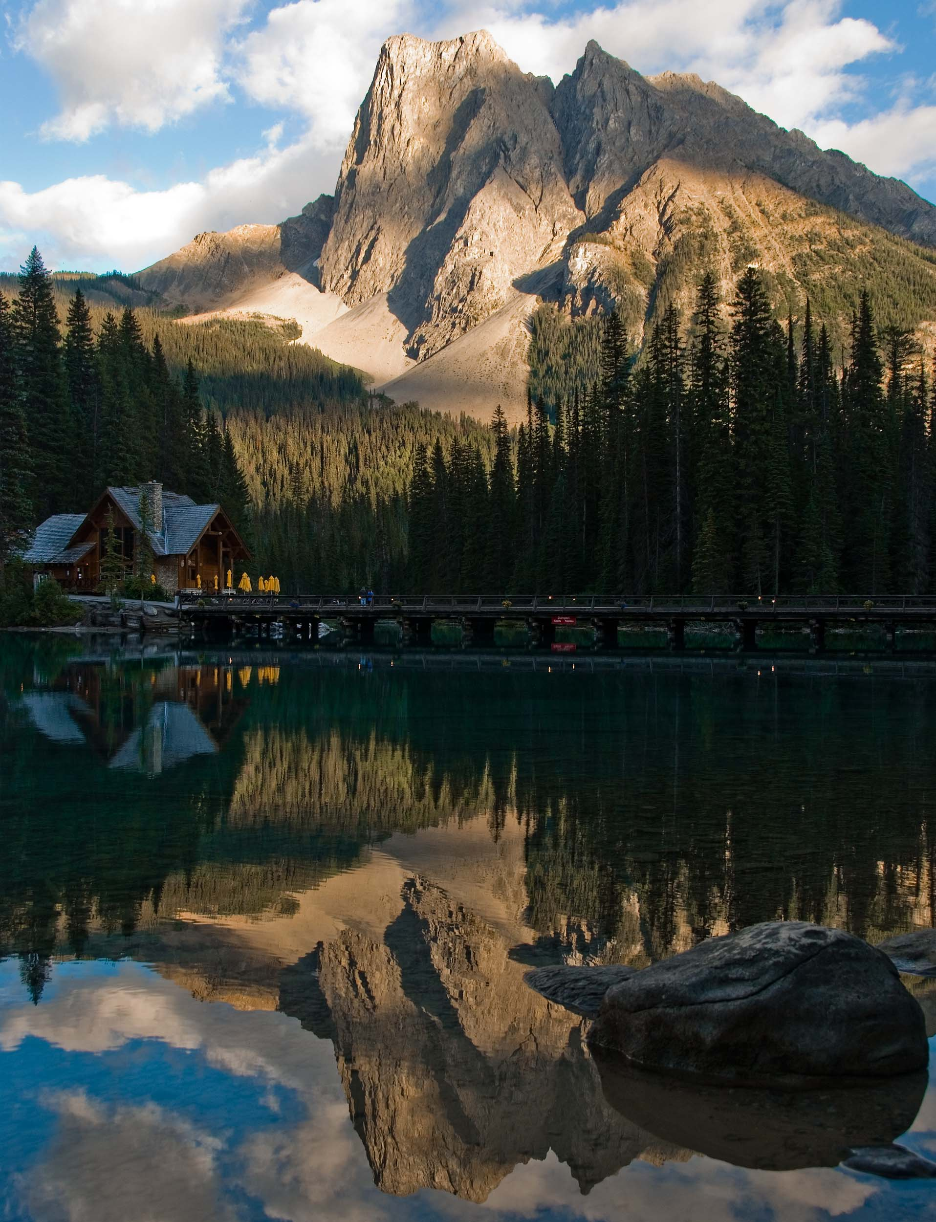 Emerald Lake, BC (inside Yoho National Park)is one of the most magical places in all of Canada. As part of Canada 150, here is the second photo (third in the series) of Emerald Lake.