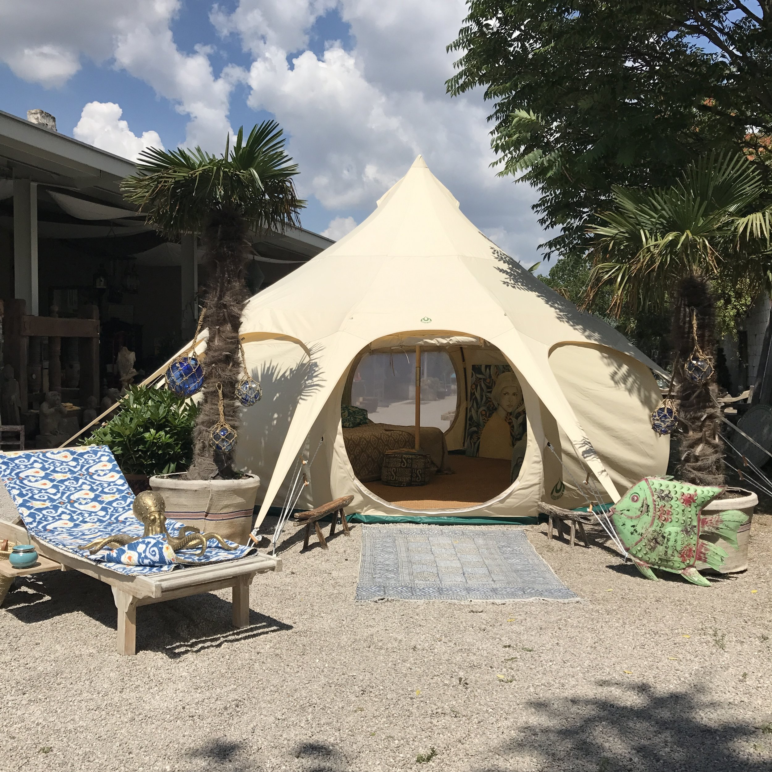 5m Lotus Belle Tent