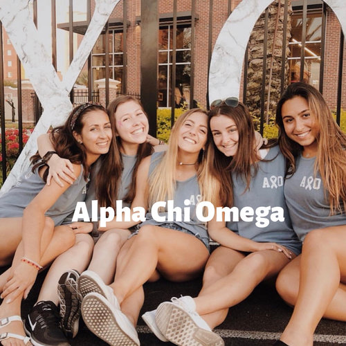 "Gamma Pi Chapter   ""Alpha Chi Omega is an amazing organization that has given me so much in the past 3 years. Our philanthropy touches the hearts of our sisters, and inspires them to be real strong women. My sisters inspire me daily, and it is such an honor to be able to lead them. They support me and push me to be my best and I am so grateful to have them."""