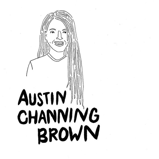 I see you @austinchanning and I'm listening. #imstillhere #author #austinchanningbrown