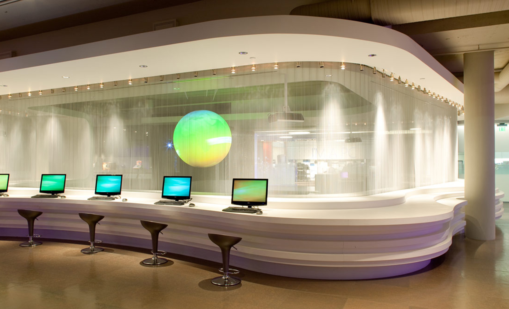 We are experts in exhibit manufacturing, trade show design & fabrication, and conference planning, along with corporate environments, company interiors, and museum exhibitions.