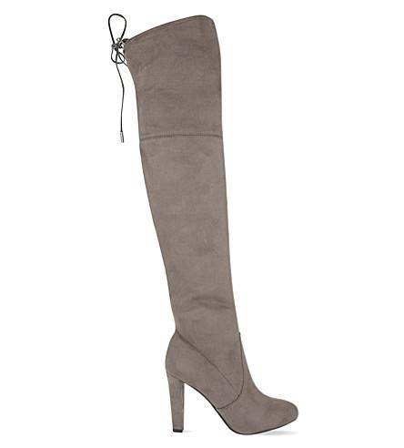 CARVELA Sammy suede over-the-knee boots