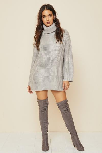 Arrowhead Sweater Dress