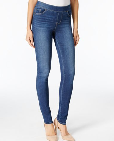 Petite Hartley Pull-On Skinny Jeans