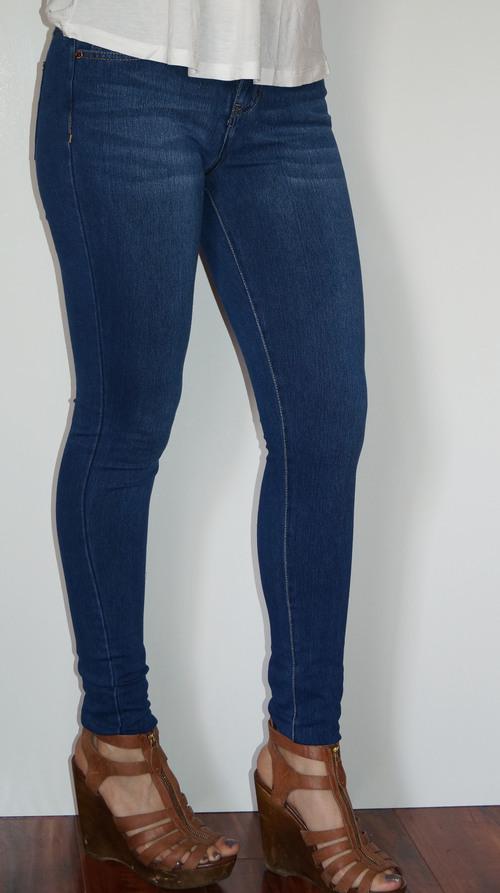 Medium Blue Skinny Jean