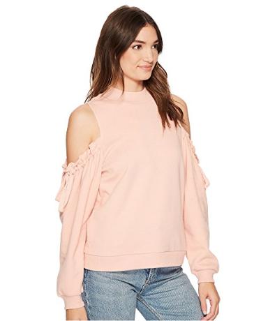 kensie Cozy Fleece Sweatshirt