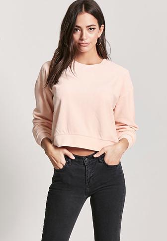 Smooth Velvet Pullover