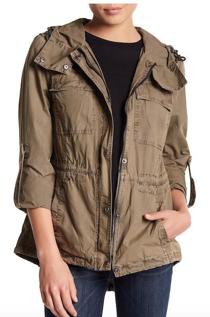 Levi's Utility Zip Front Jacket
