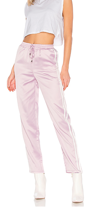 KAYA SIDE STRIPE TRACK PANT  BY THE WAY. by the way.