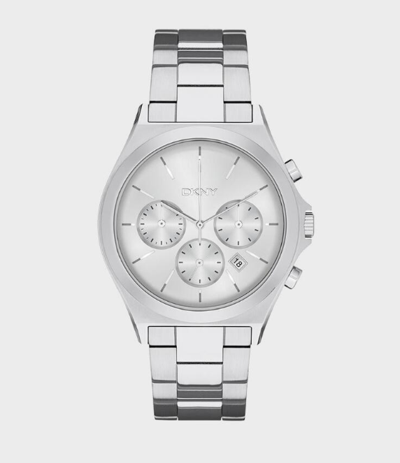 PARSONS CHRONOGRAPH STAINLESS STEEL WATCH- SILVER-TONE
