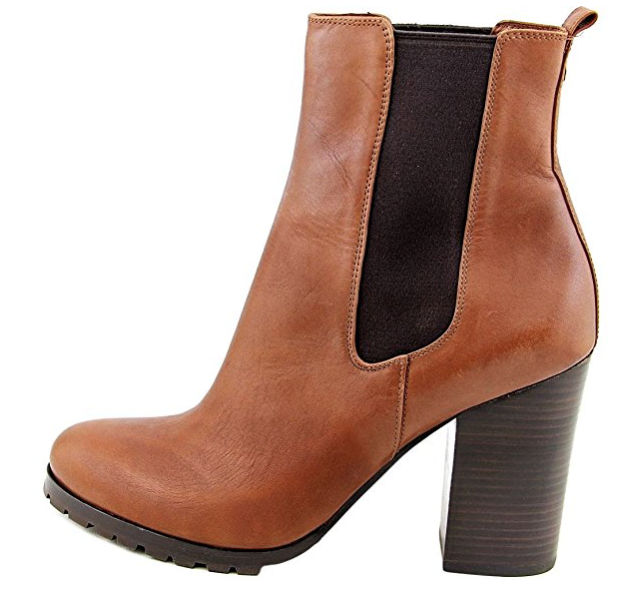 Coach Odelle Sydney Round Toe Leather Ankle Boot