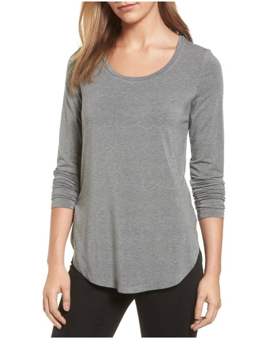 Long Sleeve Knit Tunic HALOGEN®