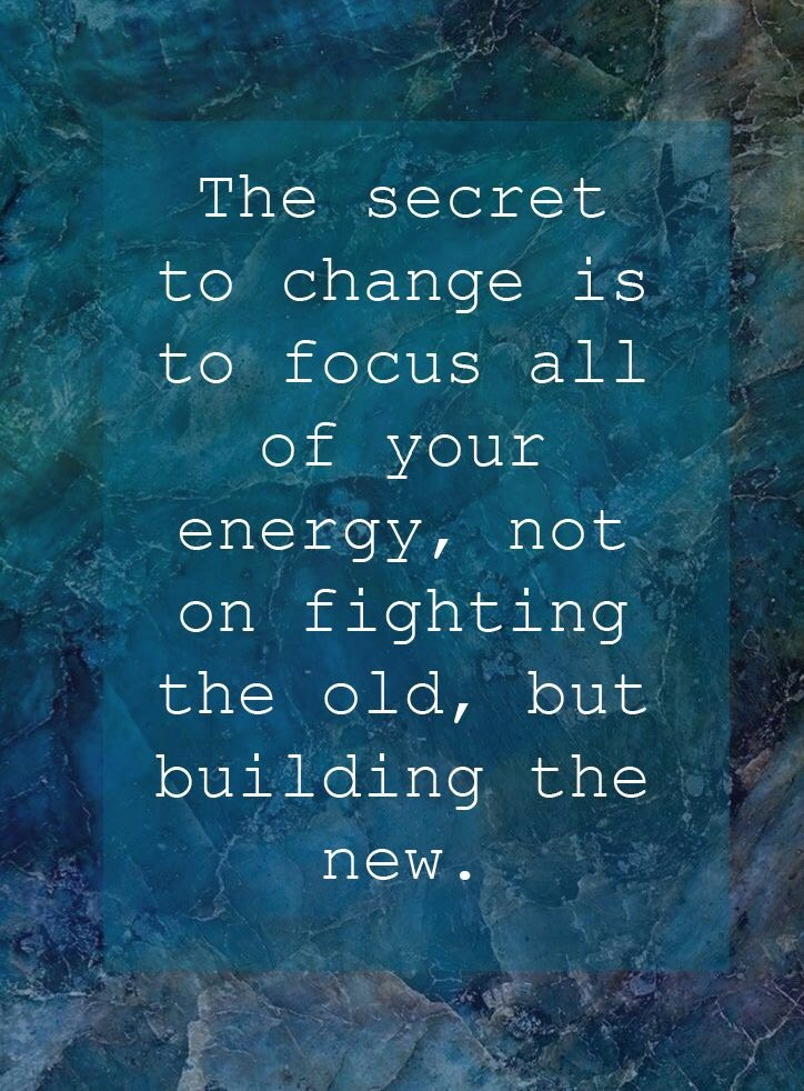 Change Grow motivational quote