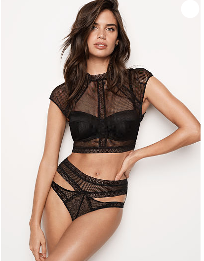 VERY SEXY Fishnet Lace Top