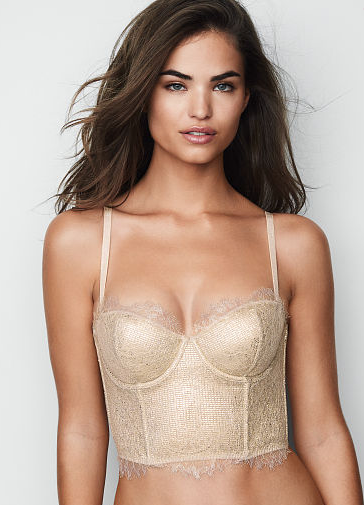 DREAM ANGELS Chantilly Lace Mini Bustier