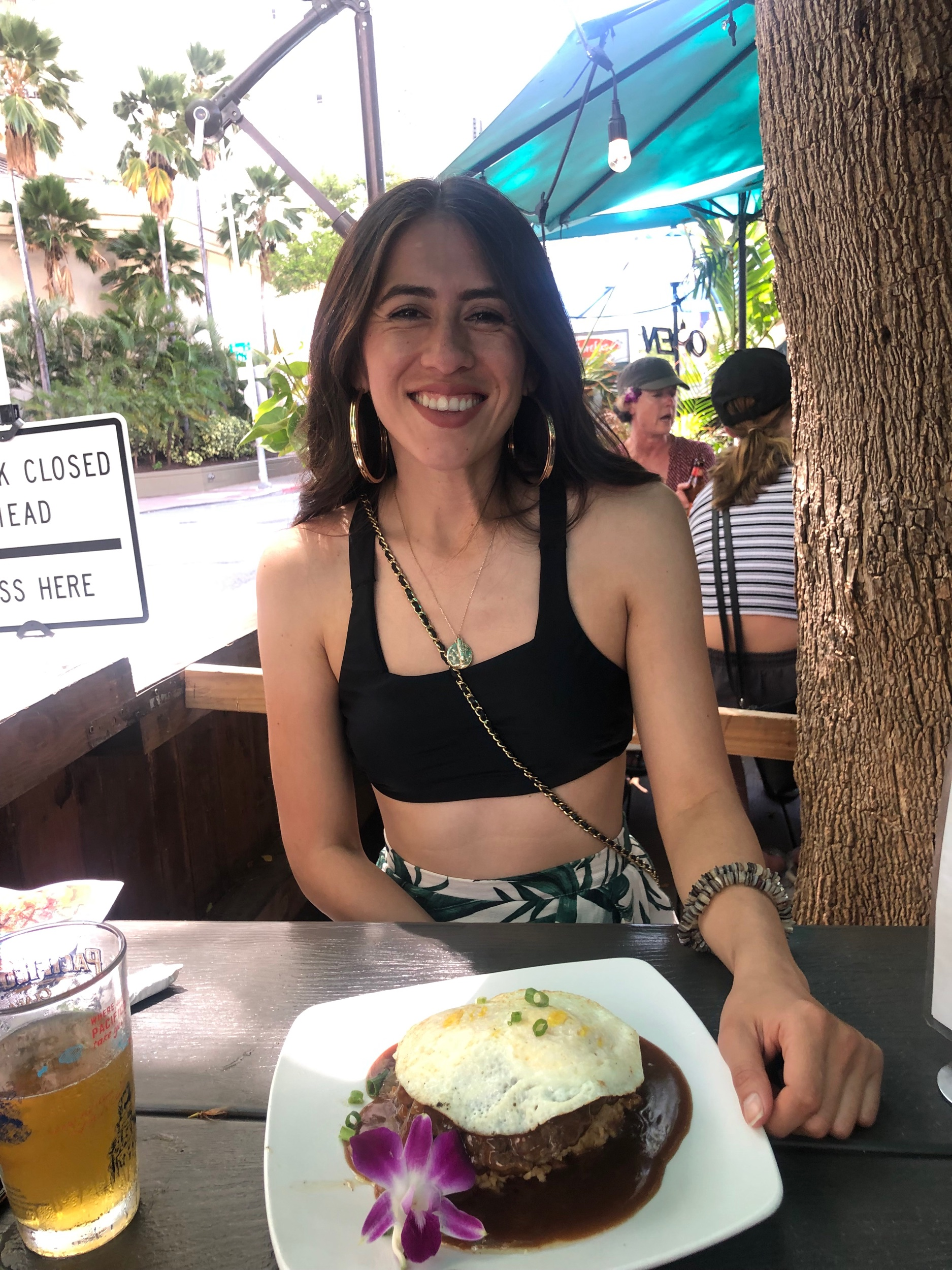 Food makes me smile… this is a loco moco from Shorefyre Lunch & Dinner