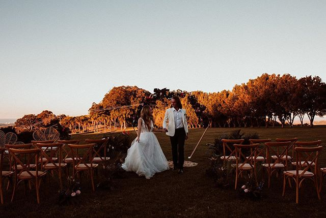 You can't beat the beauty of winter sunsets up at Ardeena ✨ ⠀ Photography by @lady_bella_australia⠀ ⠀ Styled shoot vendors: ⠀ Wedding Planner - @luxeelopements ⠀ Photographer - @lady_bella_australia + @luxeelopements ⠀ Stylist + Hire - @blissandwillow + @onedayhouse_rentals⠀ Floristry - @flowers_by_lynda ⠀ Cake - @bigsistersbakingco ⠀ Stationery - @iampoppydesigns⠀ Naked Tipi - @goldcoast_tipis ⠀ Holden - @may_the_ek_byron_bay⠀ Videographer @wovenmotion ⠀ Bridal wear - @happilyeverafter.bridal ⠀ Grooms wear - @wilvalor ⠀ Makeup Artist - @lady_bella_australia + @luxeelopements ⠀ Hair Stylist - @amyspryhair