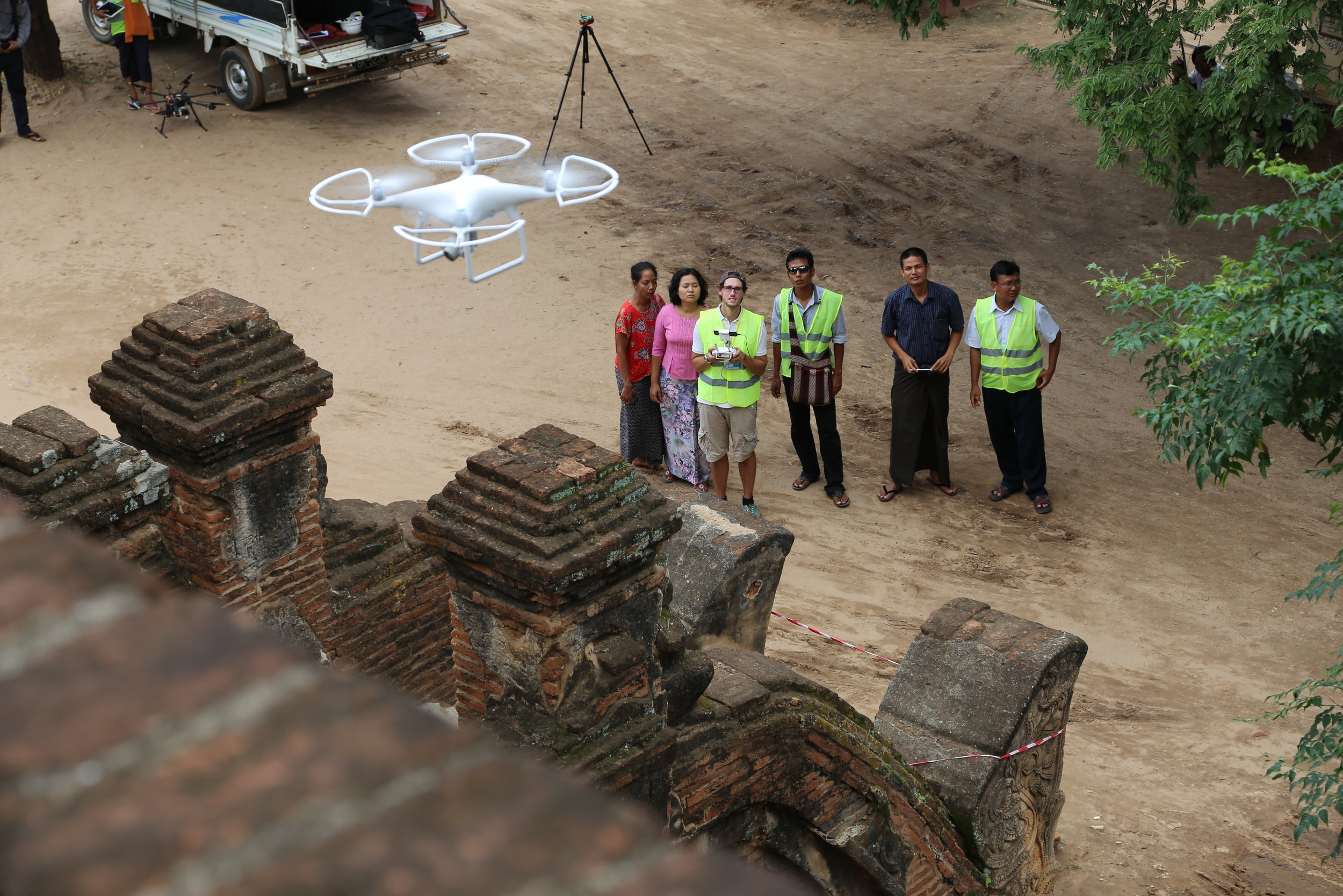 Copy of Rapid Assessment Training with the Department of Archaeology in Myanmar