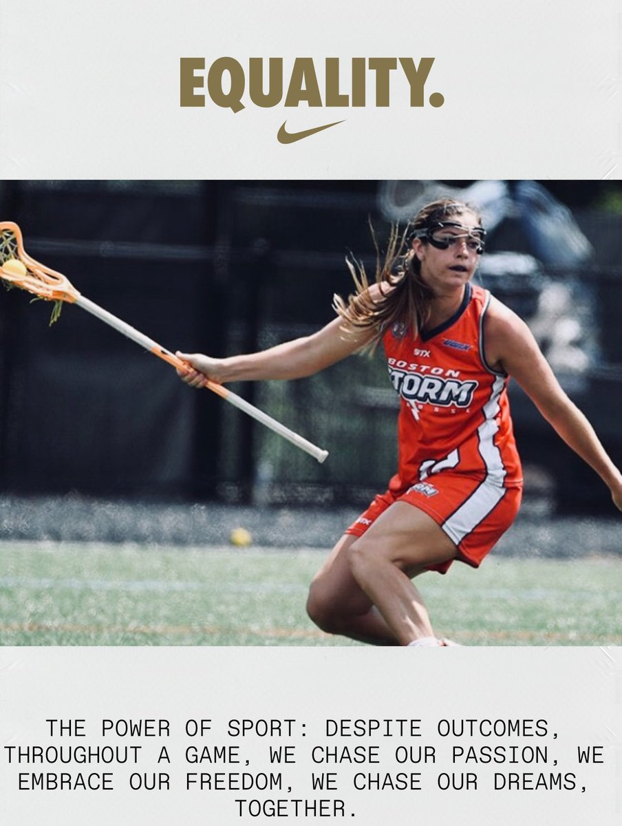 June 18, 2018 - Kayla Treanor signs a 3-year extension with Nike to be the face of Nike Lacrosse