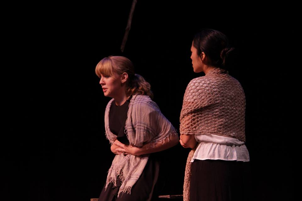 As Mary Warren in The Crucible, Anonymous Theatre