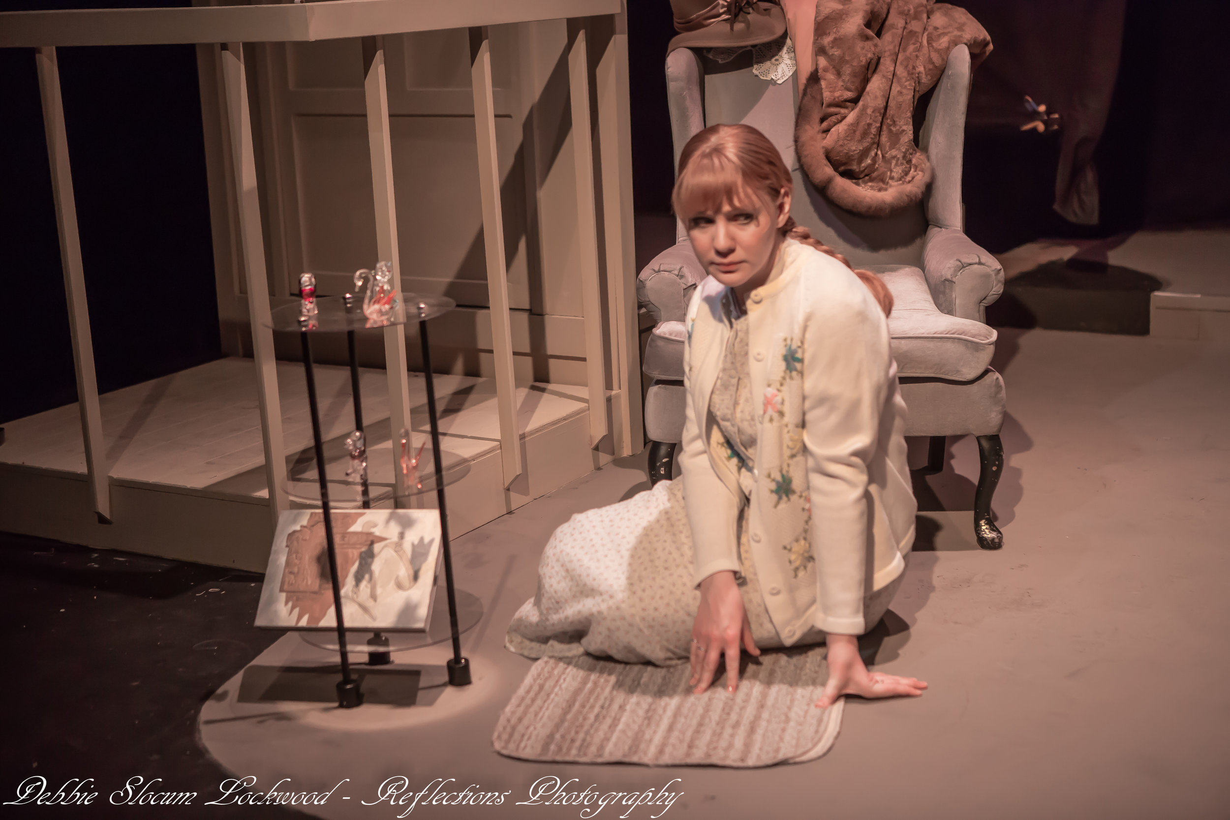 As Laura Wingfield in The Glass Menagerie, Gallery Theatre