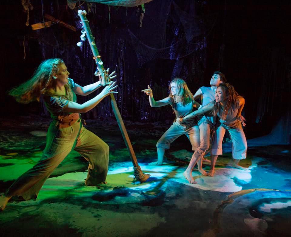 As Prospera in Full Fathom Five, directed by Michael Corbridge