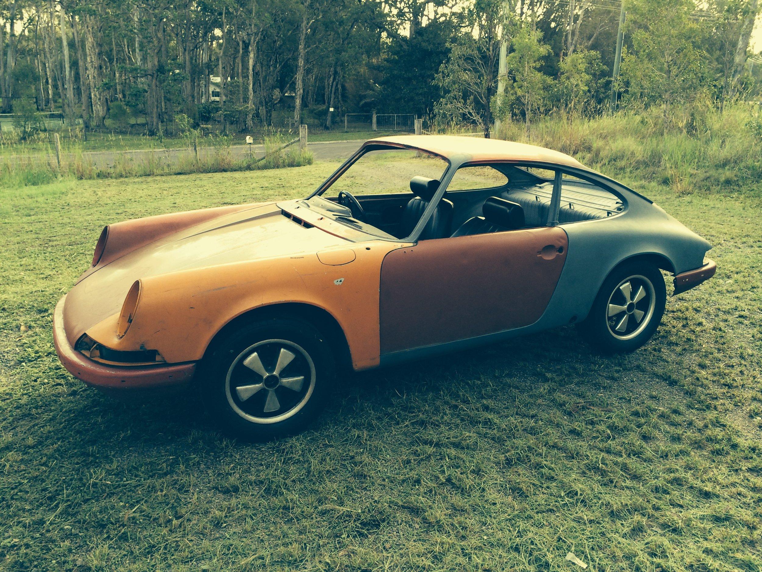 Porsche 911 restoration project