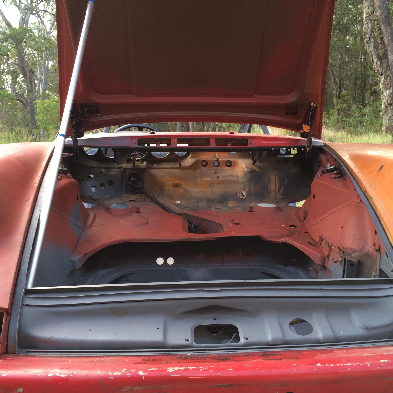1970 Porsche 911 restoration project