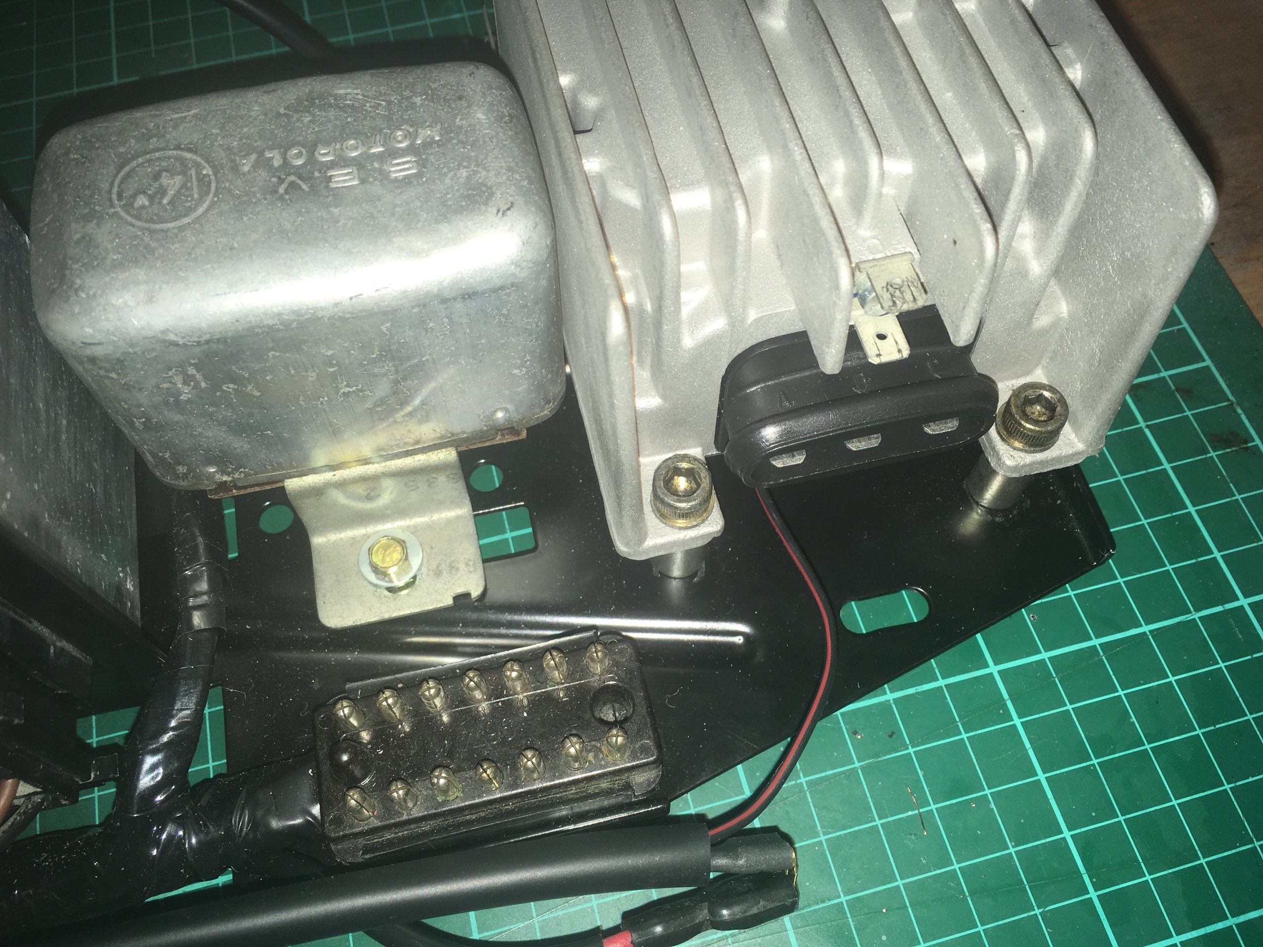 Porsche CDI speed switch control