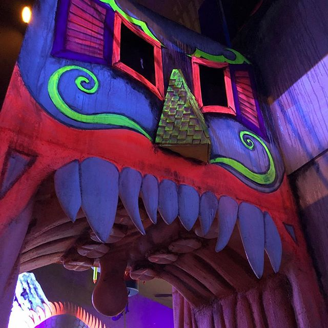 The Kooky Trails #FunHouse entrance is complete  #KookyTrails #DarkRide #YouDreamWeTheme #adrenalinattractions