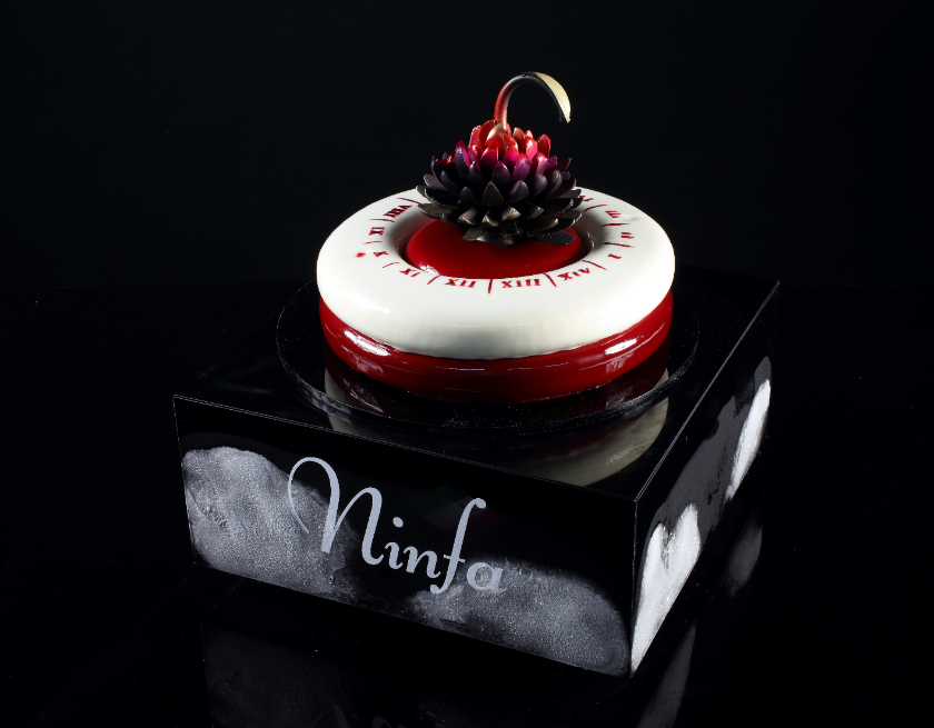 Team Italy 2019 winning Chocolate Cake
