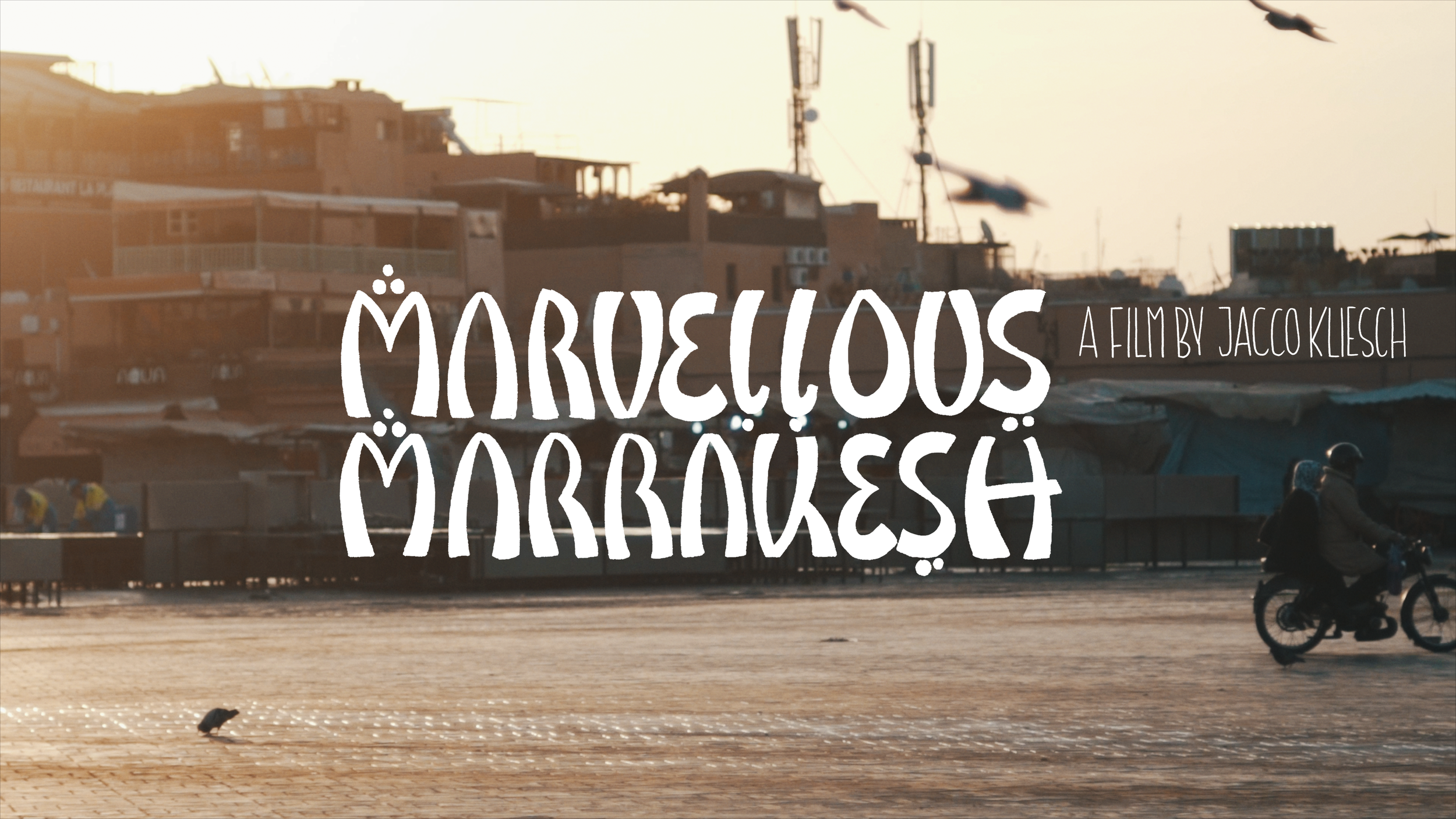 Marvellous Marrakesh - A collection of audiovisual moments from a trip to Morocco.