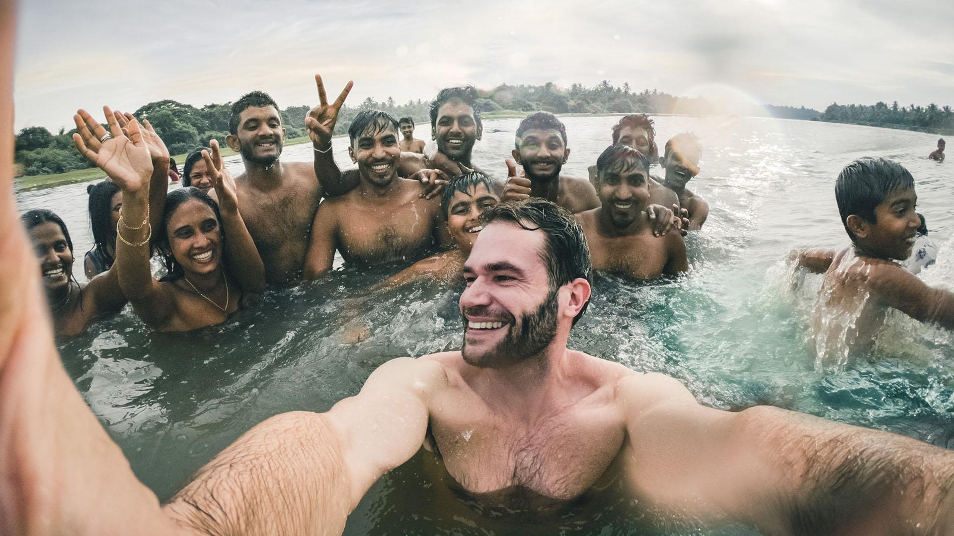 Jacco Kliesch in Sri Lanka GoPro