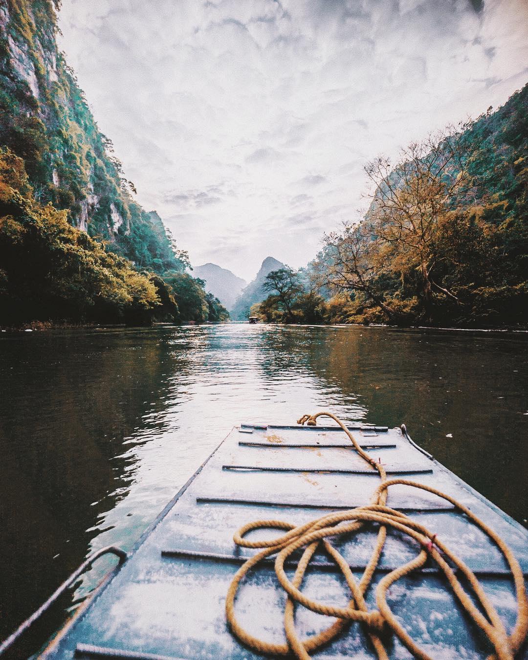 Boat, Vietnam, 2017.