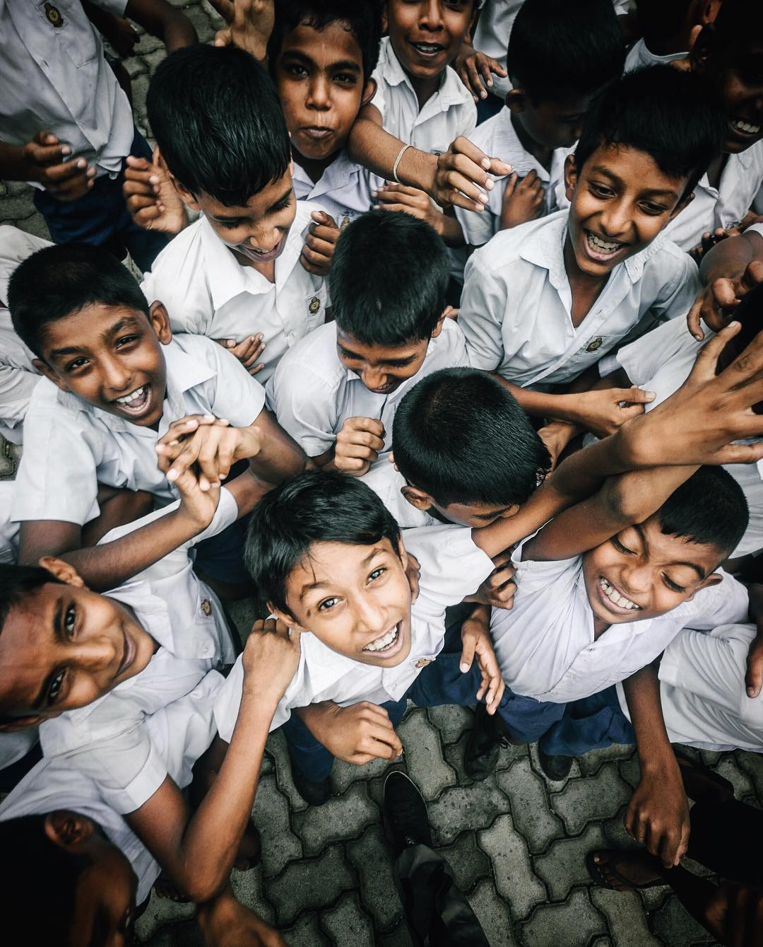 School kids, Sri Lanka, 2017.